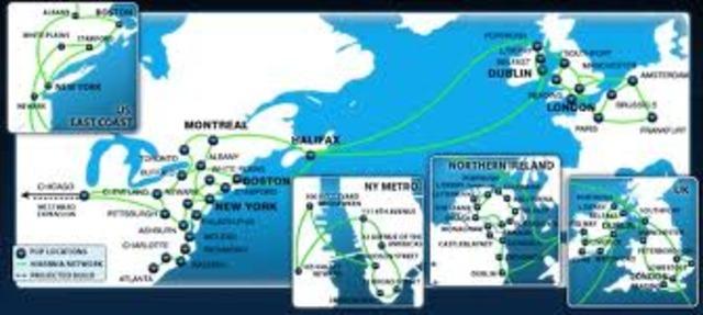 First transatlantic fiber optic cable