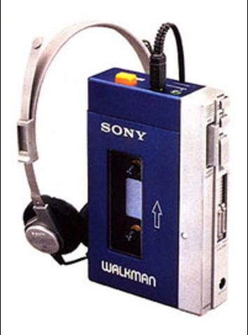 (H) Sony Walkman TPS-L2 (The miniaturization has began)