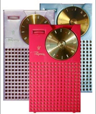 The First Transistor radio (H)