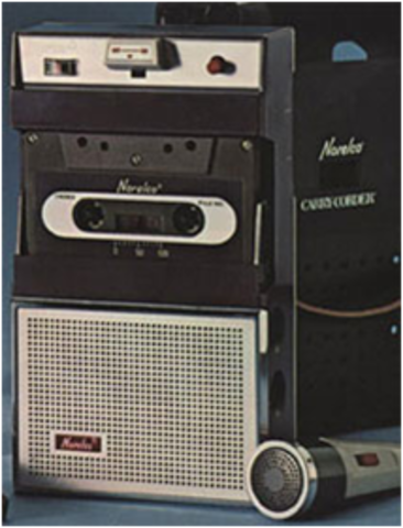 (H) Philips Compact Cassette and the Norelco Carry-Corder 150