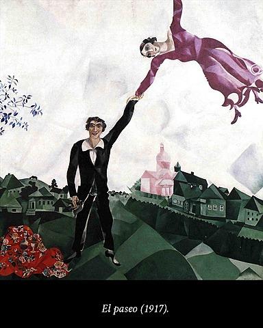 El Paseo, Chagall