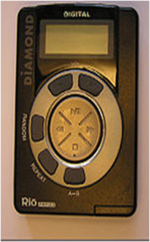 (H) Rio PMP300 - Solid-state with LCD screen