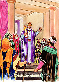 Jehoshaphat sends out Levites to teach the God's Law