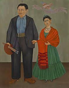 Frida y Diego, Kahlo