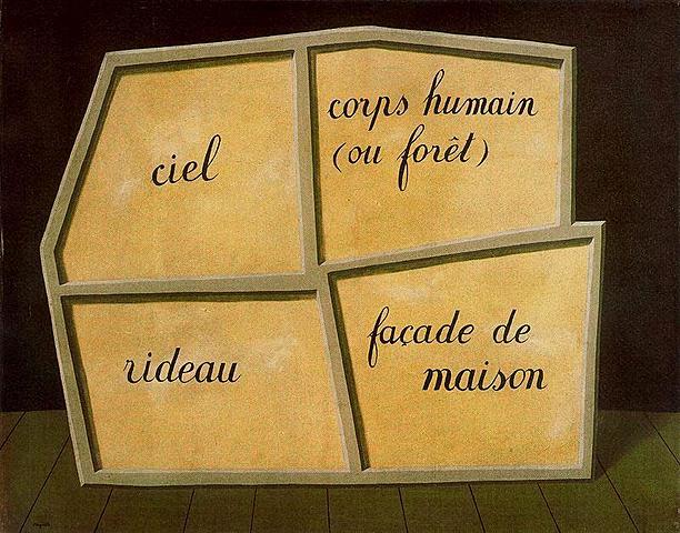 La máscara vacía, Magritte