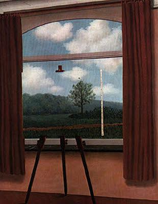 La condición humana, Magritte