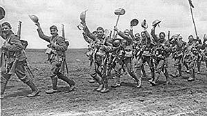 La Força Expedicionària Britànica desembarca a França