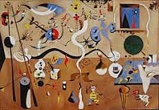 El carnaval del arlequín, Miró