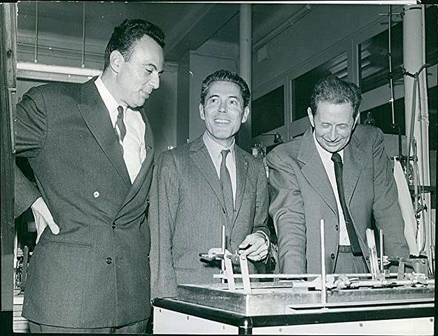 Jacques Monod, François Jacod et André Lwoff