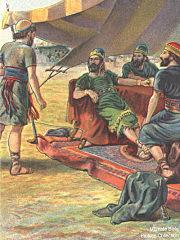 Ahab goes to war with Ben-hadad