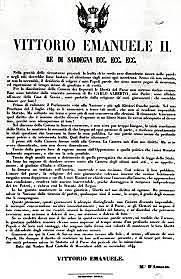 Il proclama di Moncalieri