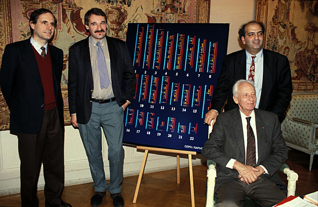 Daniel Cohen, Jean Weienback et Charles Auffray