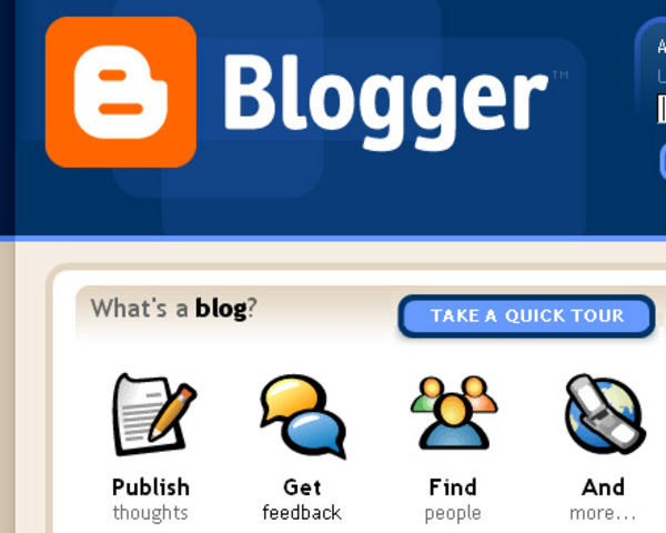 Participar en los blogs...