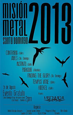 MISIÓN METAL 2013 SANTO DOMINGO