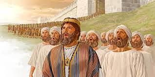 God Defends Jehoshaphat in Battle