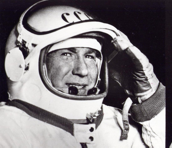 First Man to space walk