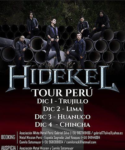 HIDEKEL TOUR XII PUERTAS PERÚ 2016