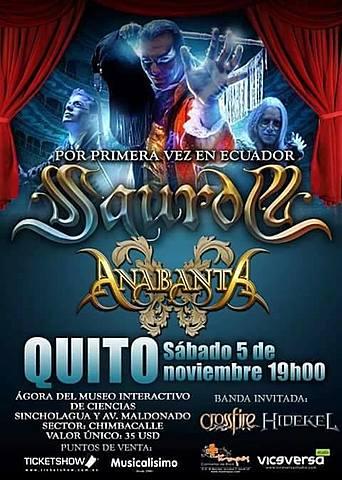 SAUROM Y ANABANTA EN QUITO