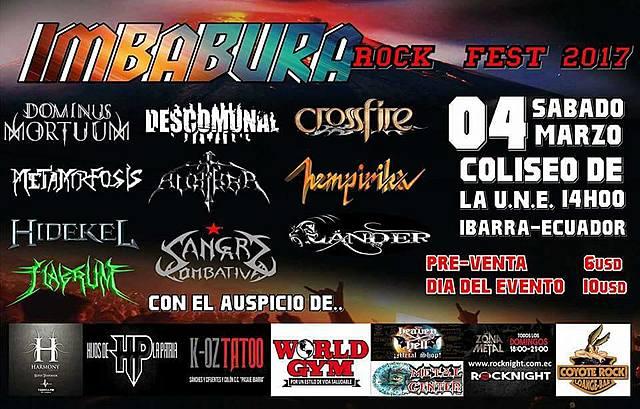 IMBABURA ROCK FEST 2017