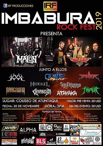 IMBABURA ROCK FEST PRESENTA A TREN LOCO Y MALÓN
