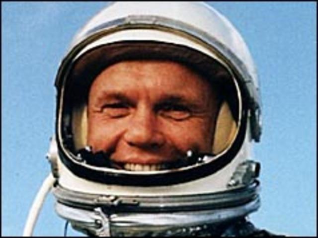 US spaceman orbits Earth