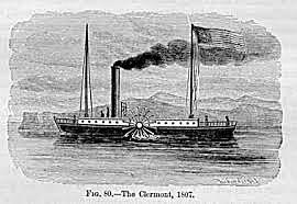 Robert Fulton Invents Steamboat