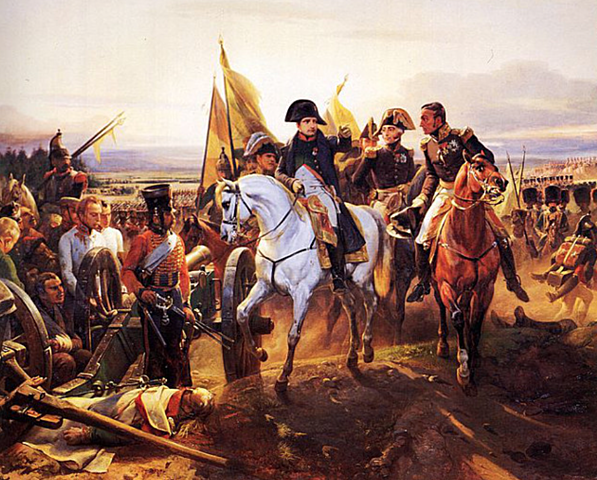 Napoleons nederlag i slaget ved Waterloo