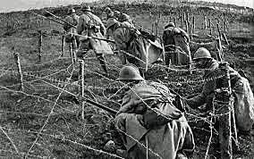 Inici de la batalla de Verdun