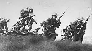 Inici de la batalla de Somme