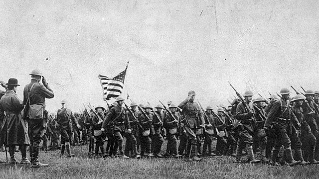 Els Estats Units declaren guerra a Alemanya