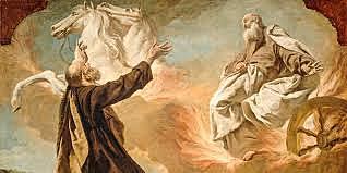 Elisha Succeeding Elijah