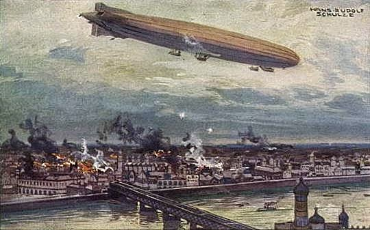 Alemanya bombardeja Londres.