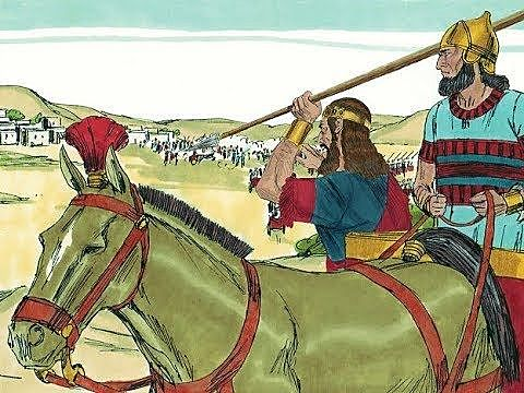 Jehoshaphat joins Ahab in the battle vs Syrians