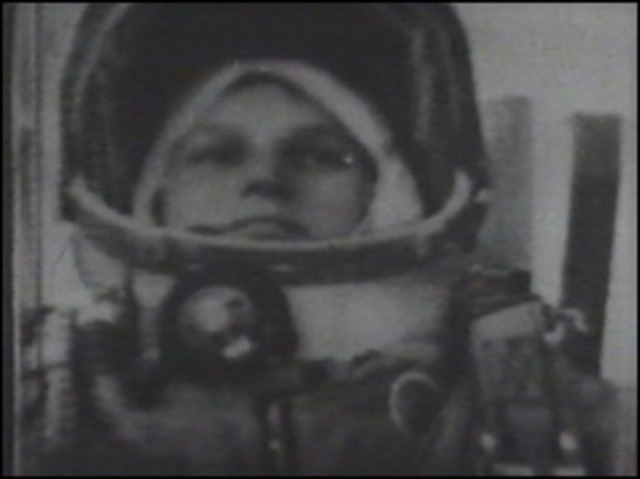 Soviets launch first woman into space