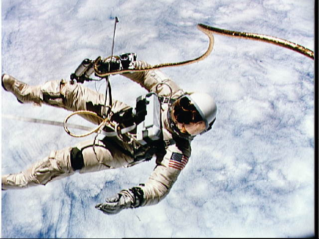 Americas first space walk