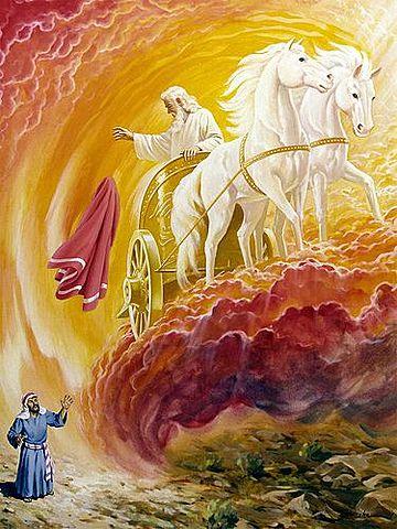 Elisha suceeds Elijah