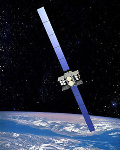 First active communications satellite.