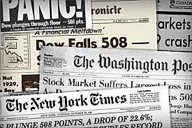 The stock market crashed!