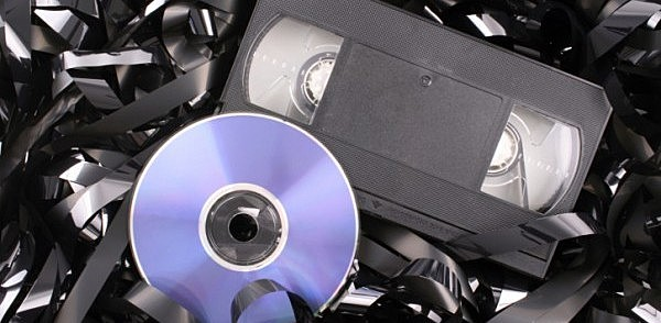 DVD's replace the VHS tapes as the most popular form of entertainment.