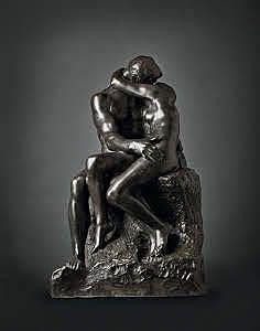 El beso, Rodin