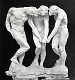 Las tres sombras, Rodin