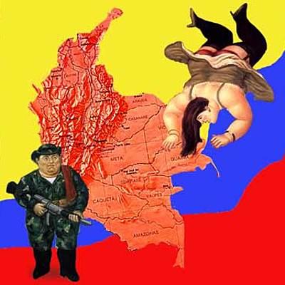 Violencia en Colombia. timeline