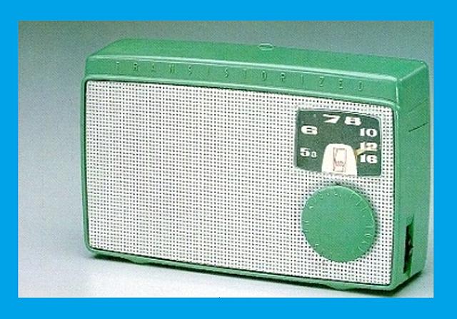Primer radio de transistores