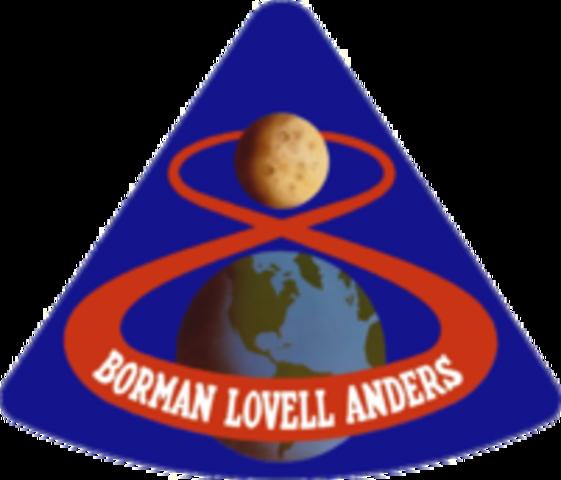 Manned Lunar orbit.