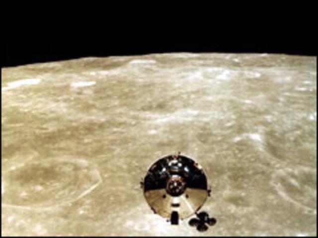 Apollo 10 gets bird's eye view of Moon