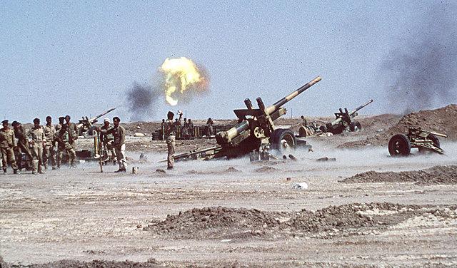 Iraq Bombs the Oil Facilities
