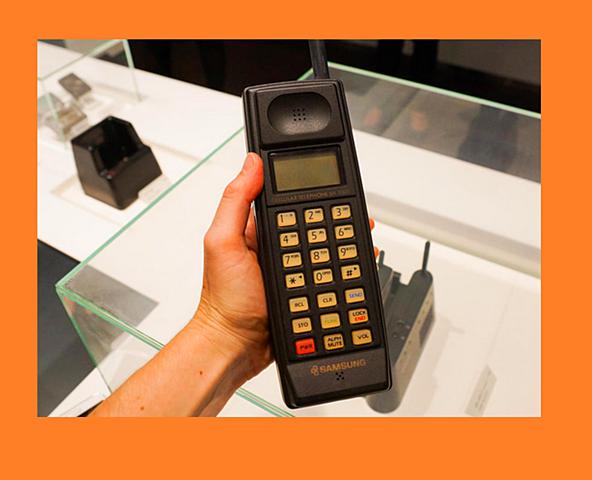El primer teléfono Movil