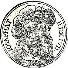 Jehoshaphat is crowned king of Judah