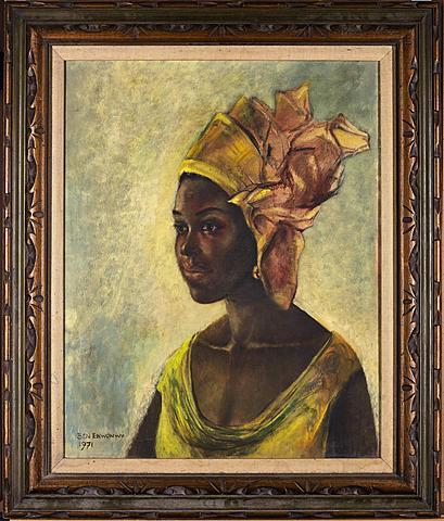 Africa's Mona Lisa by Ben Enwonwu