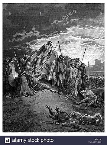 Ahab dies in war
